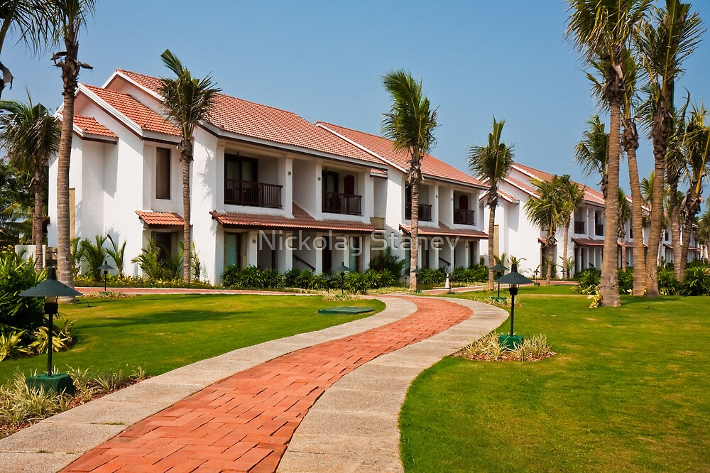 India Tropical Resort by Nickolay Stanev