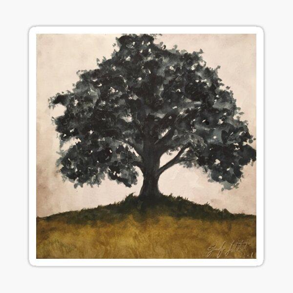Sombre Oak Sticker