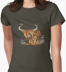 Coo's Lick Womens Fitted T-Shirt