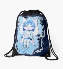 Water Fairy (Blue Version) Drawstring Bag