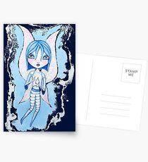 Water Fairy (Blue Version) Postcards
