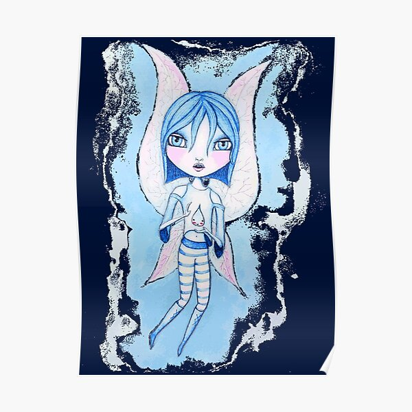 Water Fairy (Blue Version) Poster