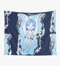 Water Fairy (Blue Version) Wall Tapestry