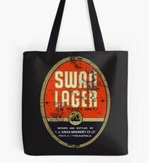 Swan Lager Tote Bag