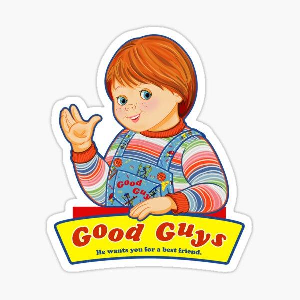 Good Guys - Juego de niños - Chucky Pegatina