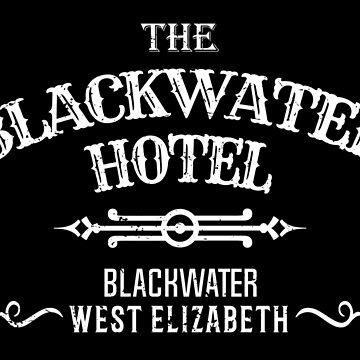 Blackwater Hotel Sticker by MikePrittie