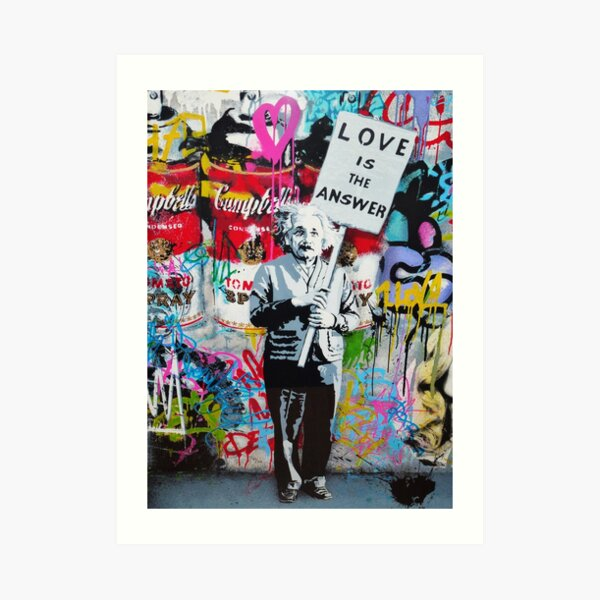 Love is the  Art Print
