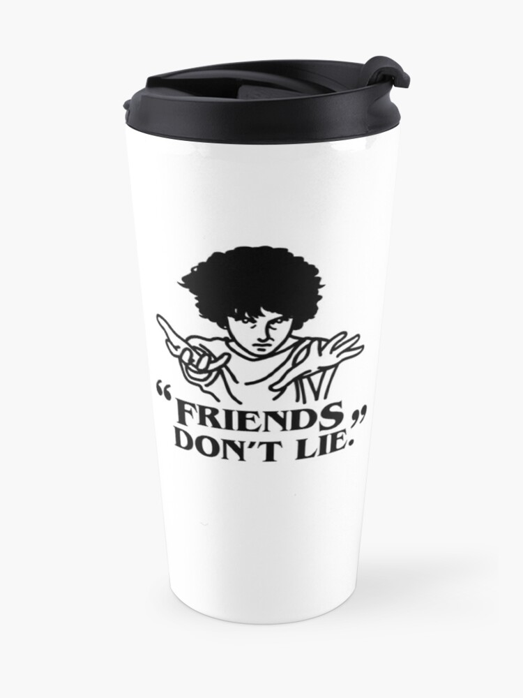 Alternate view of TV series inspired collection - Stranger things - FRIENDS DON'T LIE Travel Mug