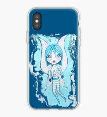 Water Fairy (Cyan Version) iPhone Case
