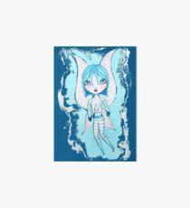 Water Fairy (Cyan Version) Art Board