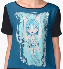 Water Fairy (Cyan Version) Chiffon Top