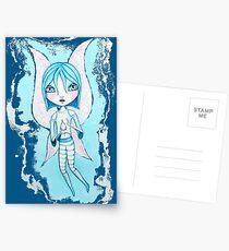 Water Fairy (Cyan Version) Postcards