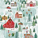 New England Christmas by Janet Broxon