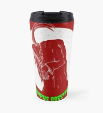 Krampus Red Travel Mug