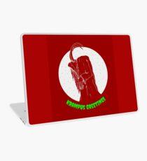Krampus Red Laptop Skin