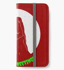 Krampus Red iPhone Wallet/Case/Skin
