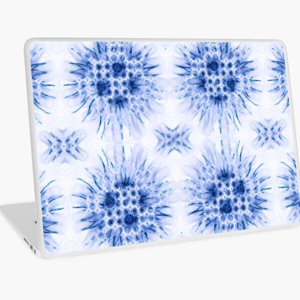 Winter textiles-frosty Laptop Skin