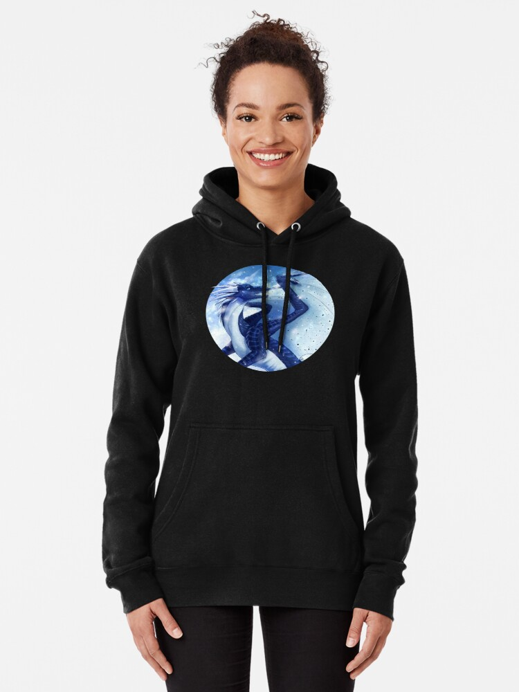 Alternate view of Wings of Fire - Whiteout Pullover Hoodie