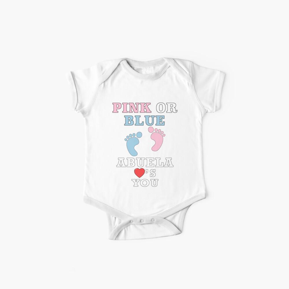 Para Baby O Te Azul Género Fiesta Bebé Corazón Lindo Abuela Shower Camiseta Ama Mujer Rosa Hombre Tú Ducha Revela ZOkiuTXP
