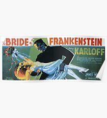Bride of Frankenstein movie poster Poster