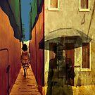 A narrow passage by Tito Victoriano