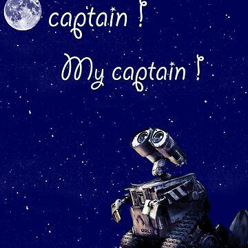 Ô Captain My Captain by Egery