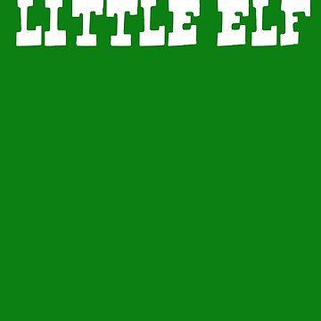 Little Elf T shirt by 3familyllc
