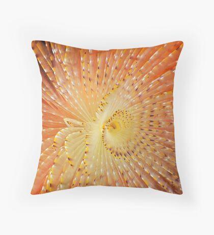 Aquatic Fireworks Throw Pillow