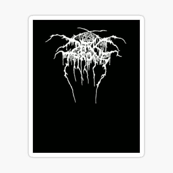 Darkthrone logo Sticker
