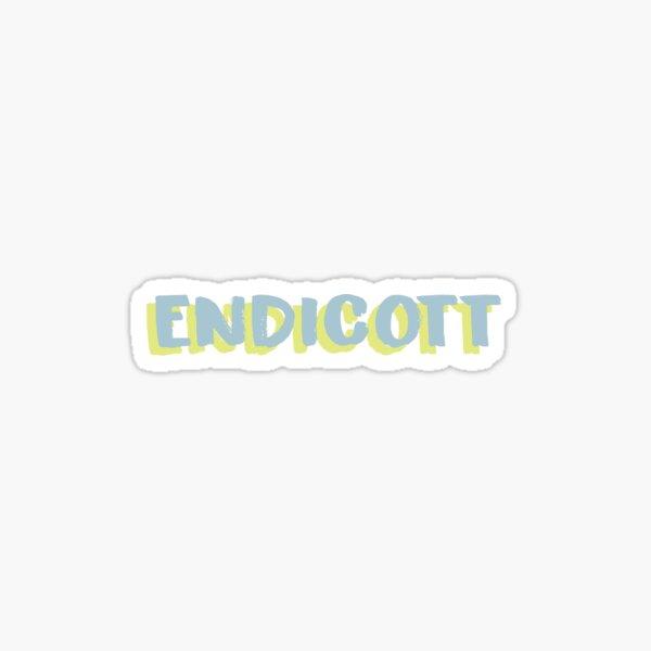 Funky Endicott Sticker