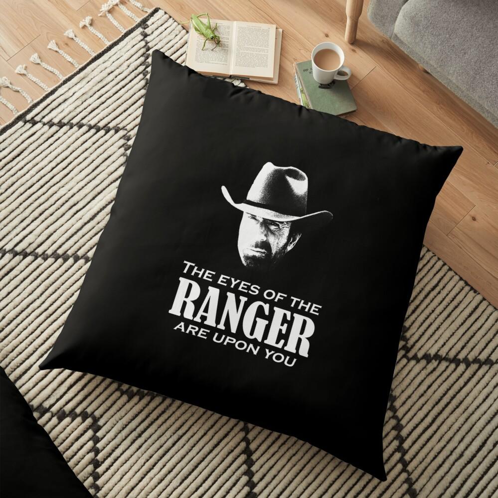 Walker Texas Ranger Merchandise (Chuck Norris) Bodenkissen
