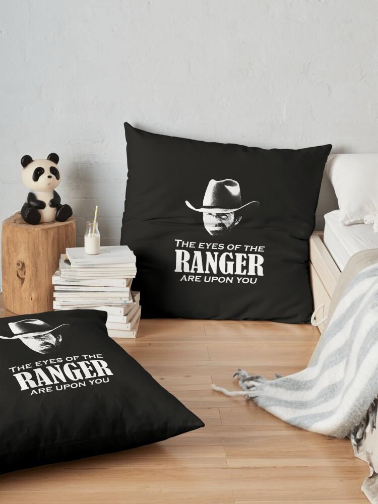 Alternative Ansicht von Walker Texas Ranger Merchandise (Chuck Norris) Bodenkissen
