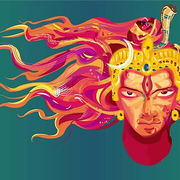 Shiva - The God of Destruction by dhananjay85