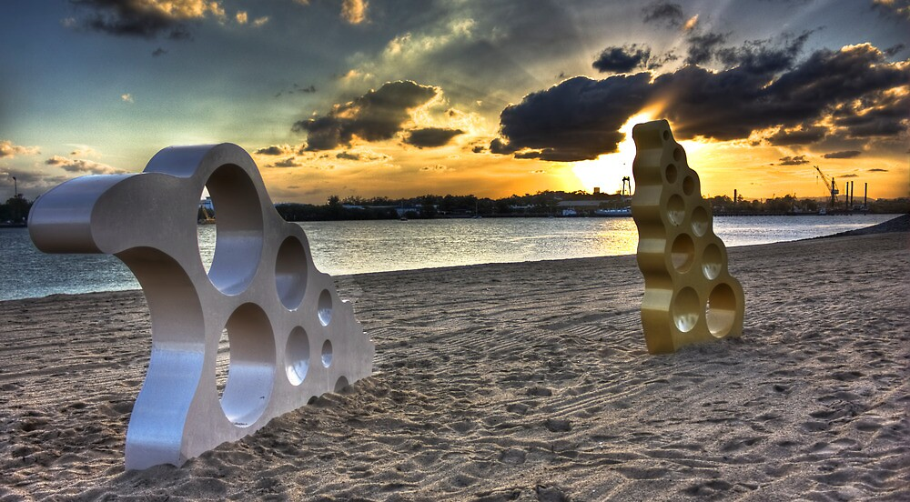 Bizzare Beach by Daniel Peut