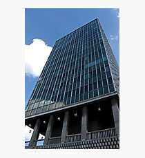 Office tower in Brussels Photographic Print