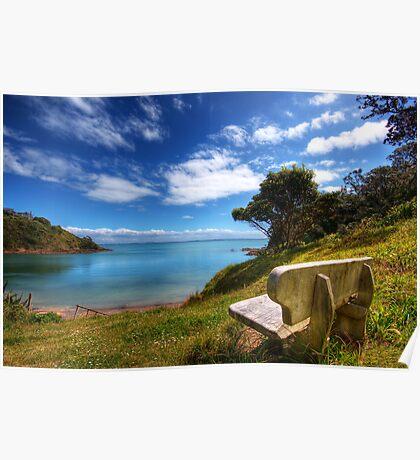 The Lookout - Waiheke Island Poster