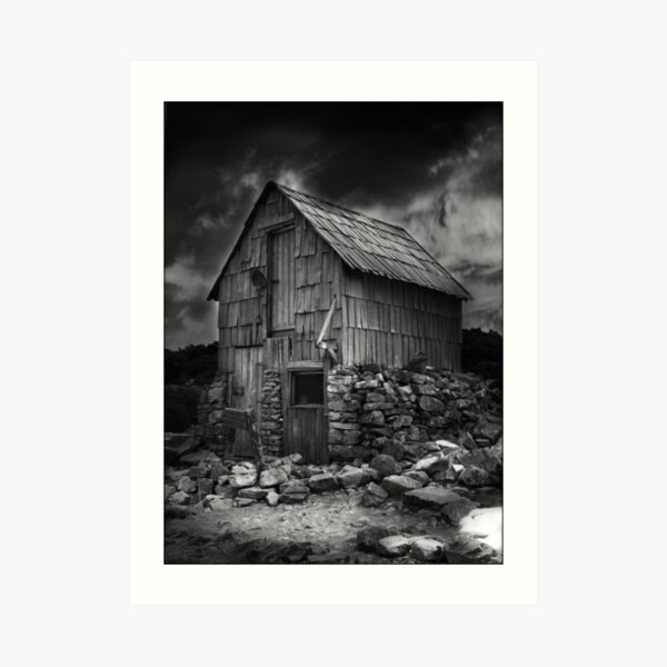 Kitchen Hut, Overland Track, Cradle Mountain, Tasmania Art Print