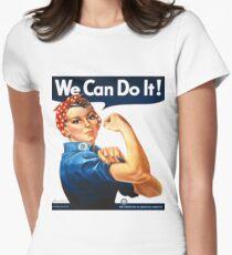 Rosie the Riveter Tshirt Tailliertes T-Shirt