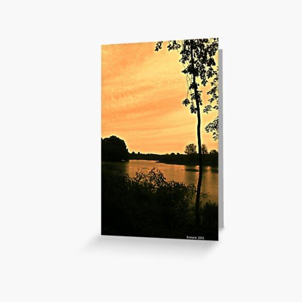 on golden pond... Greeting Card