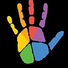 Peace Handprint by WadZat