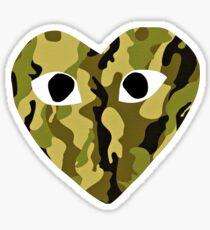 camouflage x Love Sticker