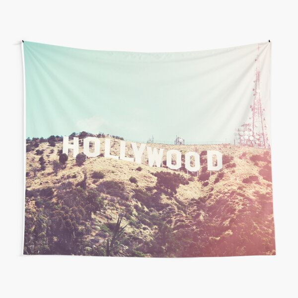 Hollywood Sign Tapestry