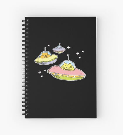 space cats Spiral Notebook