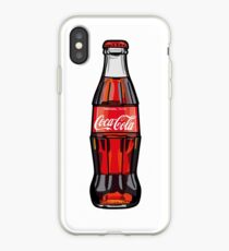 coca cola iPhone Case