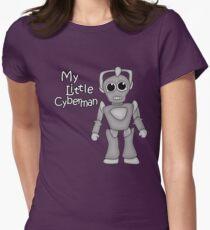 My Little Cyberman Women's Fitted T-Shirt