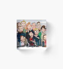 Strenge Family Acrylic Block