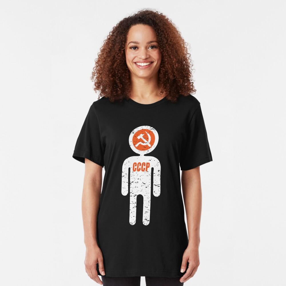 soviet astronaut Slim Fit T-Shirt