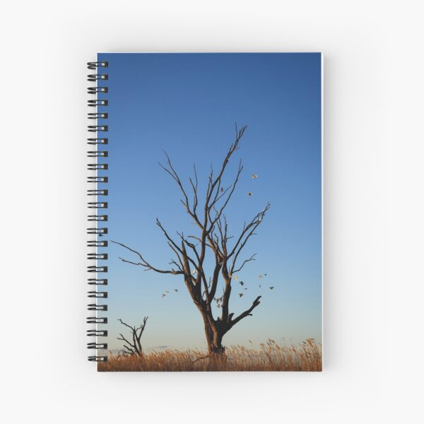 Birds of a feather fly together  Spiral Notebook