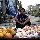 Hongkou's Fruit Vendor by eyesoftheeast