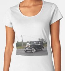 COOL OLD SCHOOL CAR Women's Premium T-Shirt